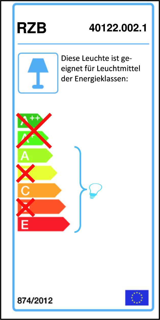 RZB 40122.002.1 Spiegelleuchte weiß