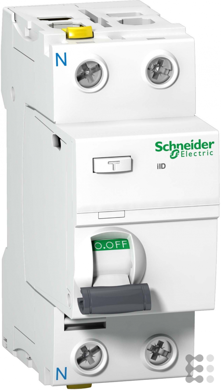 schneider fi schalter 2p 25a 30ma typ a a9z21225 ebay. Black Bedroom Furniture Sets. Home Design Ideas